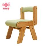 宝宝儿童椅子靠背凳子实木头质幼儿园小矮学习椅写字吃饭BB凳餐椅