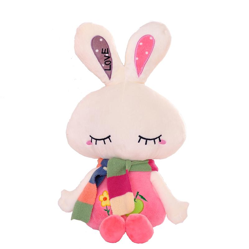正版蓝白玩偶可爱毛绒坐姿兔子小白兔毛绒玩具公仔六一儿童节礼品 ¥:12.25 已售74件 (有426人评论)