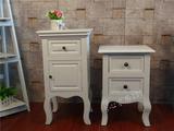 怡心家居特价包邮韩式床头柜床边柜简约现代实木收纳柜储物欧式柜