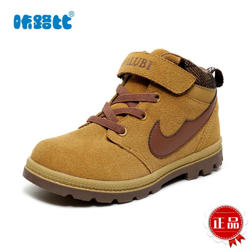 牛皮棉鞋少女男童鞋保暖5 6 7 8 9 12岁小孩冬靴雪地靴子图片