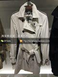 香港DFS专柜代购 Burberry女士经典肯辛顿标准中长款风衣39133631