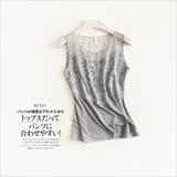 【天天特价】包邮百搭夏季小背心女 透视网纱蕾丝吊带 显瘦打底衫