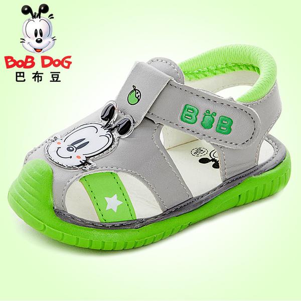 岁儿童凉鞋防磨脚包头
