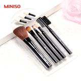 日本MINISO名创优品正品肤韵五件套化妆刷美妆彩妆美容工具套装