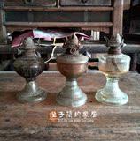 热卖老式煤油灯老罩灯玻璃灯罩工艺小油灯民俗怀旧收藏物件