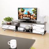 蔓斯菲尔现代简约电视柜伸缩烤漆电视柜组合小户型客厅电视机柜子