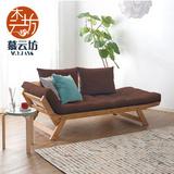 日式小户型多功能沙发床书房 简约沙发床宜家折叠懒人沙发床客厅