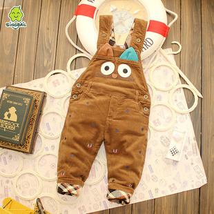 男童棉裤加厚冬背带品牌排行 婴儿背带棉裤裁剪图 男童棉裤加厚冬背