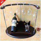 1212新款实木酒架复古木质红酒架创意葡萄酒架倒挂酒杯架悬挂酒架