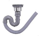 不锈钢水槽下水器配件单槽洗菜盆全钢下水头洗碗水池下水管包邮