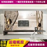 3d立体墙纸电视背景墙壁纸简约客厅卧室大型壁画无缝涂鸦抽象树林