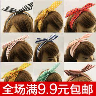 发带韩国兔耳朵品牌排行 韩国兔耳朵发带怎么戴 发带韩国兔耳朵什么