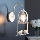 北欧床头灯壁灯卧室欧式简约温馨美式个性儿童婚房过道单灯饰灯具