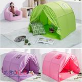 【韩国直送】Ebonia宝宝游戏帐篷/游戏房子/室内外游戏屋可放床上