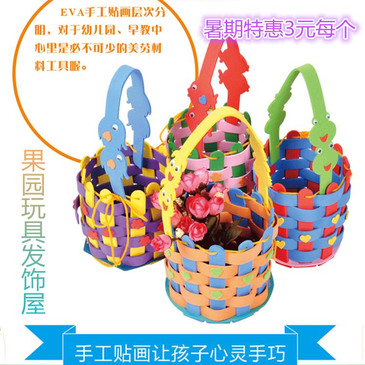 剪贴画立体画-工制作材料3D粘贴画幼儿园diy贴纸玩具批发
