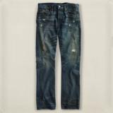 现货 RRL 美国代购 白耳 拉夫劳伦高端品牌 SLIM BOOTCUT 牛仔裤