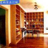 定做实木格子架展示架创意格架书架书柜储物架隔板置物架