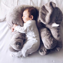 Spot custom models burst children baby elephant doll pillow super soft plush toys feeding pillow tide