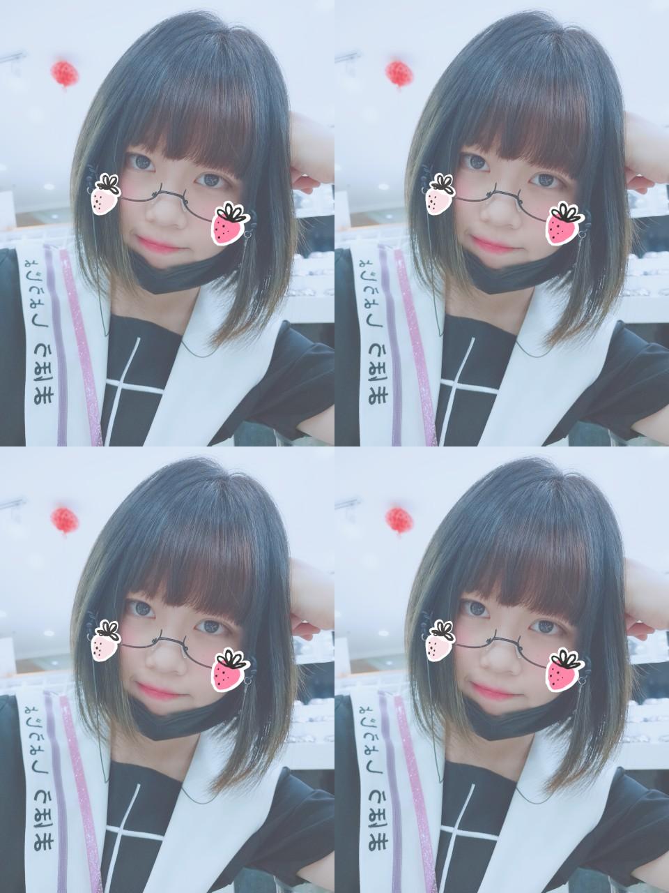 眼镜太可爱辣!