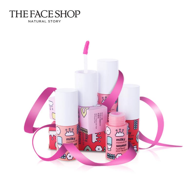 【199】The Face Shop/菲诗小铺牛奶水润唇彩 保湿滋润唇蜜
