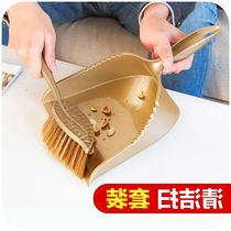 Daily necessities mini cleaning brush dustpan folder bucket combination plastic small broom broom folder folder trash shovel set