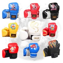 Boy 3-5-7-10-12 years old training children juvenile boxing child child boxing gloves fighting training