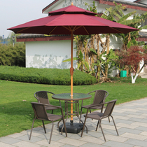 Outdoor table and chairs set courtyard rattan chair terrace table and chair leisure balcony small coffee table outdoor iron rattan table and chair