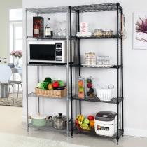 Kitchen rack floor multi-layer microwave rack seasoning rack supplies storage rack food rack shelf storage rack