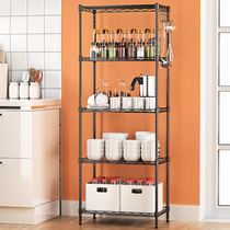 Space living balcony bathroom storage rack kitchen rack microwave bathroom shelf storage rack