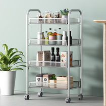 Kitchen rack mobile wheelbarrow bed rack bathroom bathroom balcony storage rack shelf