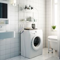 Space living washing machine shelf washing machine shelf bathroom shelf toilet shelf floor shelf