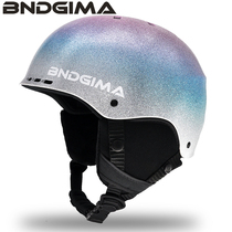 BNDGIMA19 20 New Ski Helmets For men and women adults and children equipped with protective double-board single-board anti-collision snow helmets.