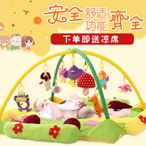 Baby toys fitness frame music game blanket baby educational toys 0-1 years 3-6-12 months newborn supplies