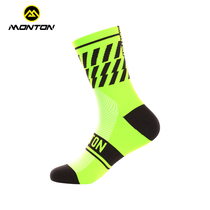 Monton Pulse Riding Socks Long Barrel Hommes et Femmes General Outdoor Sports Wear-resistant Anti-Odor Bike Breathable Socks