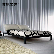 Simple iron bed double bed single child bed 1 2 iron bed modern iron bed frame 1 5 M 1 8 m tatami