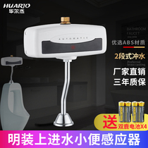 Fully automatic infrared induction urinal urinal toilet urinal induction flushing valve ming H643