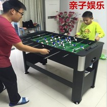Collapsible 8-Pole football table adult table football machine children desktop football table toy billiard table