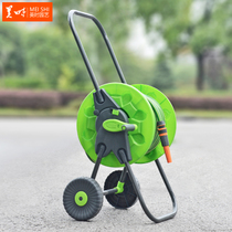 Us water pipe car washing car water gun water pipe storage rack cleaning hose reel garden sprinkler set