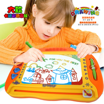 Oversized childrens drawing board magnetic writing board Colored toddlers 1-3 years old toy baby graffiti board.