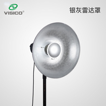 VISICO Weiss Grey Silver Radar Cover Flash Cover Photo Light Attachment Baorong Universal Card.