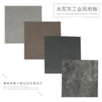 12mm Reinforced laminate flooring imitation marble retro cement grey industrial wind personality art parquet Flooring