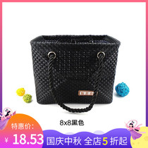 Travel wash bag woven mesh wash bath bag bath bag male and female swimming bath pocket fitness bag