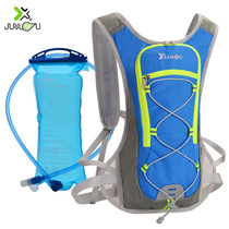 Junle Road ultra-light intimate outdoor running backpack mens and womens cross-country running equipped with marathon water bag cycling backpack.
