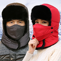 Winter riding headgear men and women face protection anti-cold mask warm motorcycle masks cycling wind-proof Lei Feng hat equipment