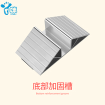 6.4cm bottom reinforcement groove baby staircase guardrail child safety fence protective railing pet isolation door Bar
