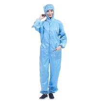 Dust suit Siamese with cap body work dust protection clothing male breathable grinding industrial summer clothes spray paint