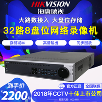 Hikvision 32 Network HD DVR Monitoring Project host 8-bit DS-8832N-K8