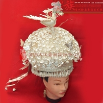 Huangping Chong Dome silver hat Miao clothing Jewelry headwear costume decoration hat Wholesale