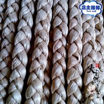 Special natural cattail grass corn skin water hyacinth dreadlocks various weaving Arts and crafts teaching materials decoration