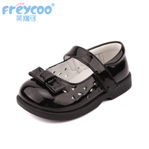Shoes single shoes black shoes 1-3-5 years old childrens shoes spring and autumn girls shoes baby shoes childrens shoes Princess